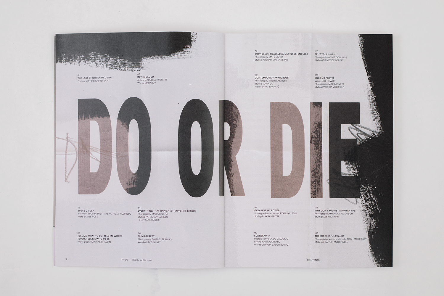 the do or die issue pylot magazine